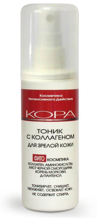 КОРА Тоник-активатор с коллагеном 100мл. Colgate (Колгейт) Зубная паста Не