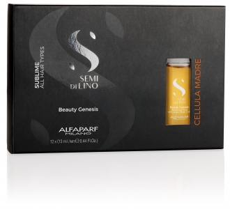 ALFAPARF SUBLIME Ампулы Генезис Красоты SEMI DI LINO CELLULA MADRE Beauty Genesis 12*13 мл